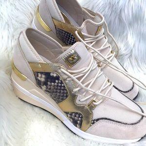 Michael Kors Wedge Sneakers